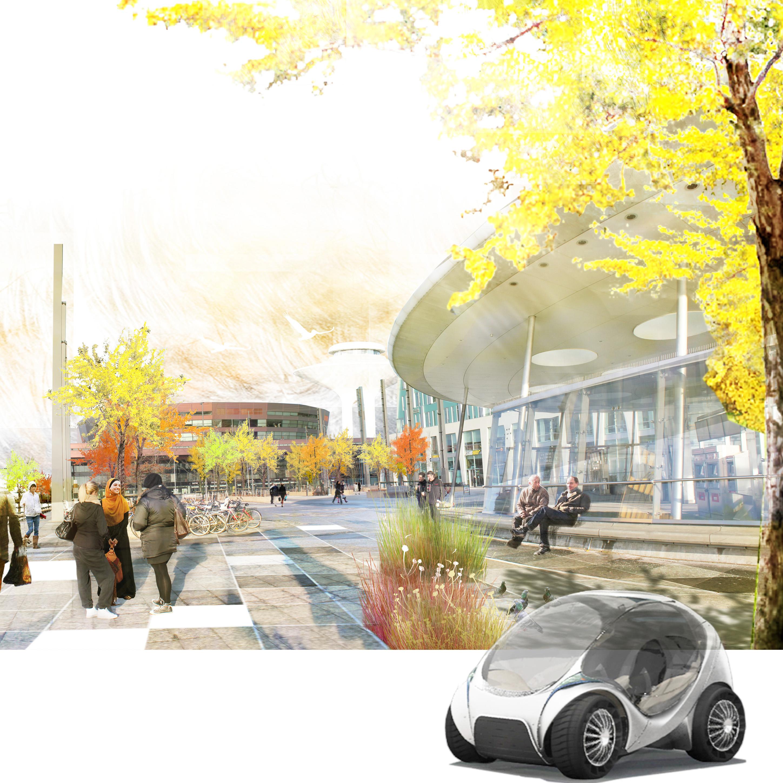 Hiriko, electric cars in Malmö