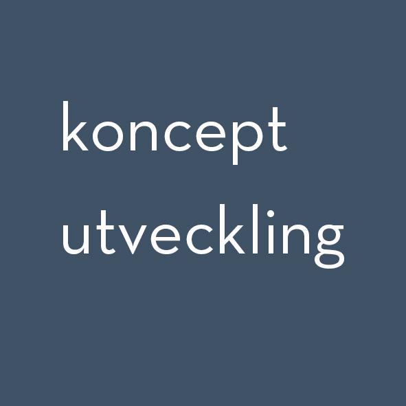 Konceptutveckling / concept development