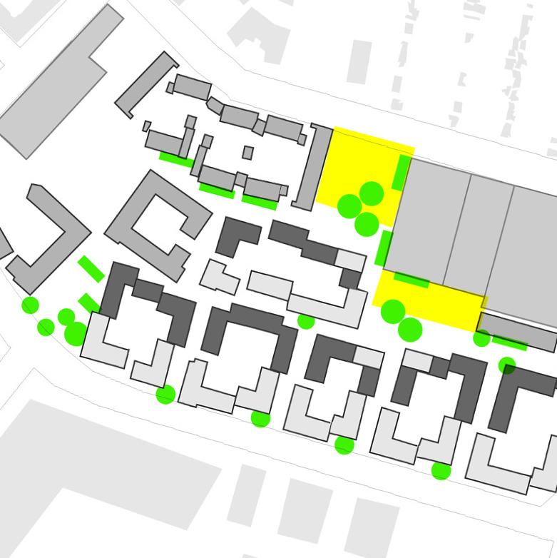 Kv Spårvägen, Malmö. Projektledning och urban design