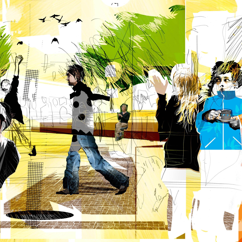 Möten i Staden / Urban encounters. Projektledning