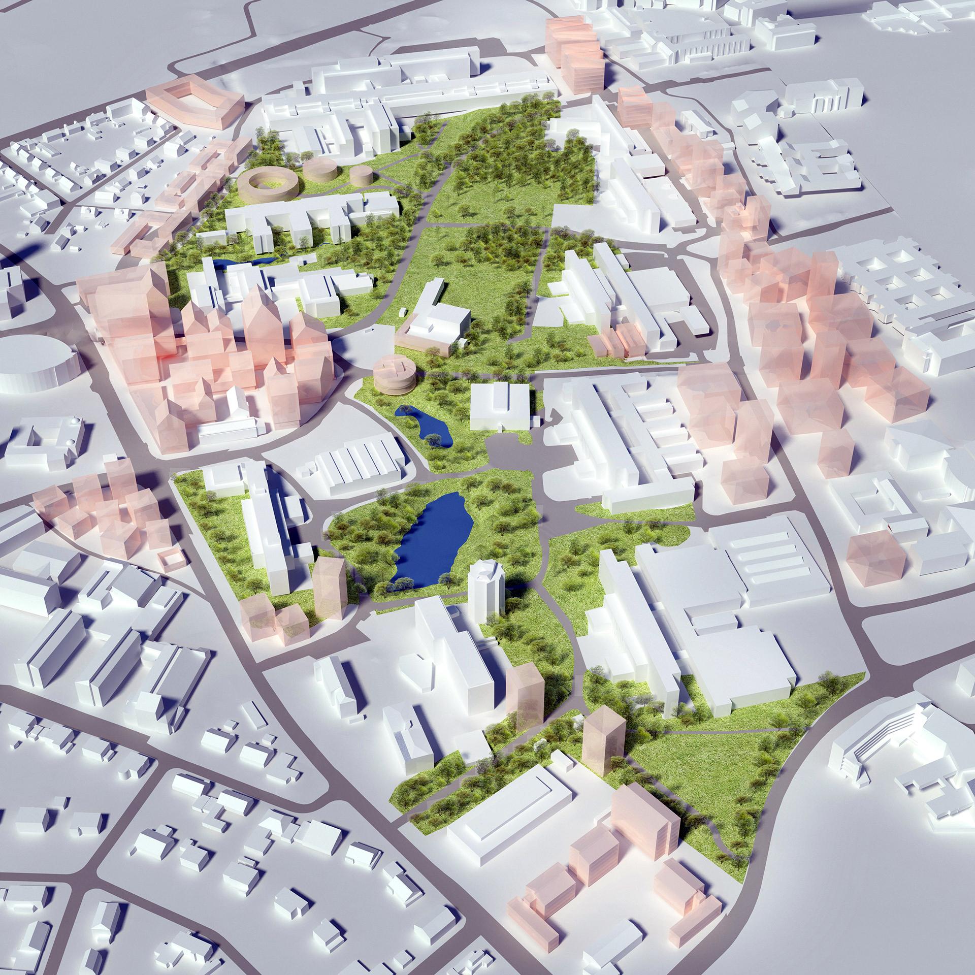 LTH utvecklingsplan, Lund